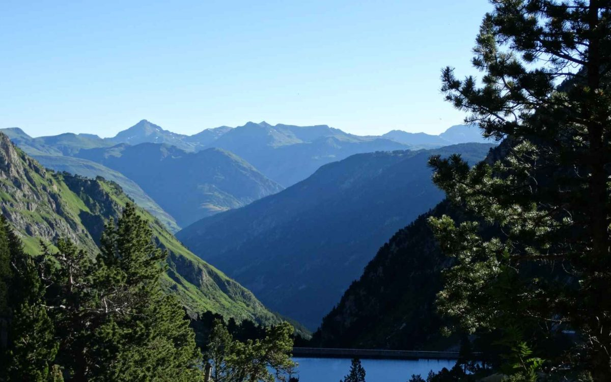 Pyrenees Mountains in Summer