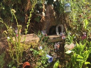 The secret fairy garden