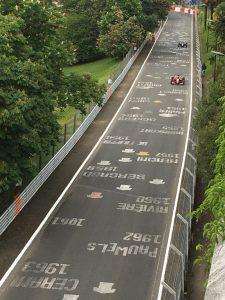 Hill Climb race track